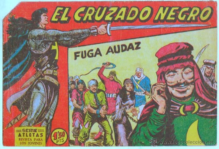Tebeos: EL CRUZADO NEGRO ORIGINAL LOTE DE 9 TEBEOS - EDI. MAGA 1961 por MANUEL GAGO, VER IMÁGENES DE TODOS - Foto 3 - 54608108