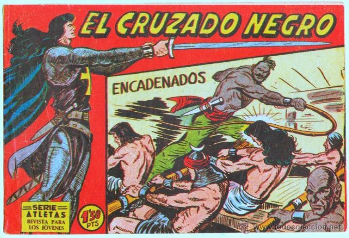 Tebeos: EL CRUZADO NEGRO ORIGINAL LOTE DE 9 TEBEOS - EDI. MAGA 1961 por MANUEL GAGO, VER IMÁGENES DE TODOS - Foto 4 - 54608108