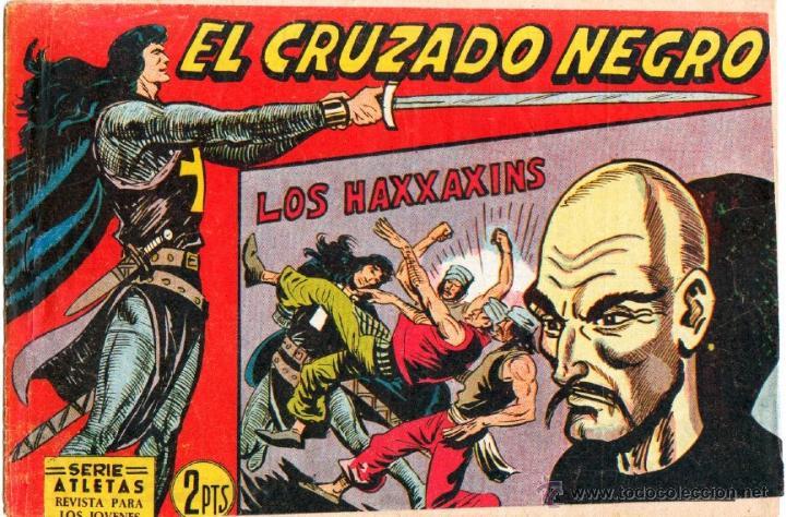Tebeos: EL CRUZADO NEGRO ORIGINAL LOTE DE 9 TEBEOS - EDI. MAGA 1961 por MANUEL GAGO, VER IMÁGENES DE TODOS - Foto 5 - 54608108
