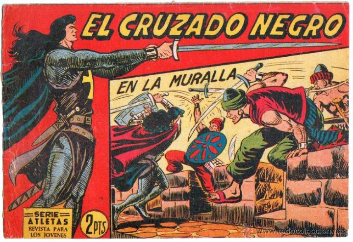 Tebeos: EL CRUZADO NEGRO ORIGINAL LOTE DE 9 TEBEOS - EDI. MAGA 1961 por MANUEL GAGO, VER IMÁGENES DE TODOS - Foto 6 - 54608108