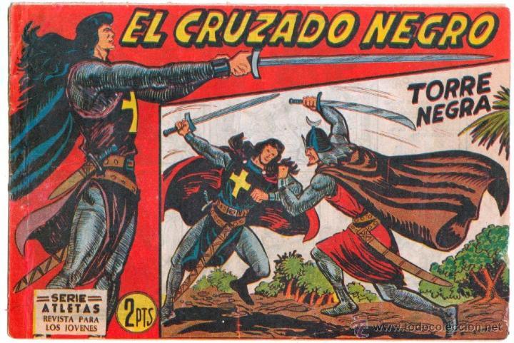 Tebeos: EL CRUZADO NEGRO ORIGINAL LOTE DE 9 TEBEOS - EDI. MAGA 1961 por MANUEL GAGO, VER IMÁGENES DE TODOS - Foto 10 - 54608108