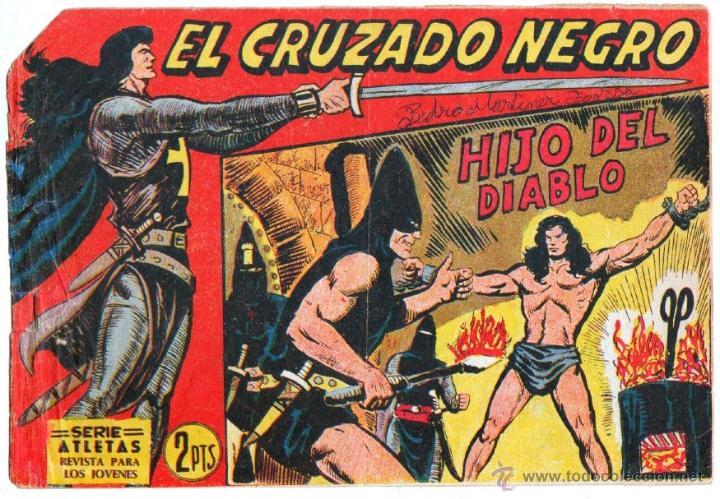 Tebeos: EL CRUZADO NEGRO ORIGINAL LOTE DE 9 TEBEOS - EDI. MAGA 1961 por MANUEL GAGO, VER IMÁGENES DE TODOS - Foto 11 - 54608108
