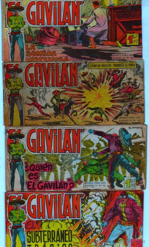 EL GAVILAN ORIGINAL COMPLETA EDI. MAGA 1959 - 1 AL 25 (Tebeos y Comics - Maga - Otros)