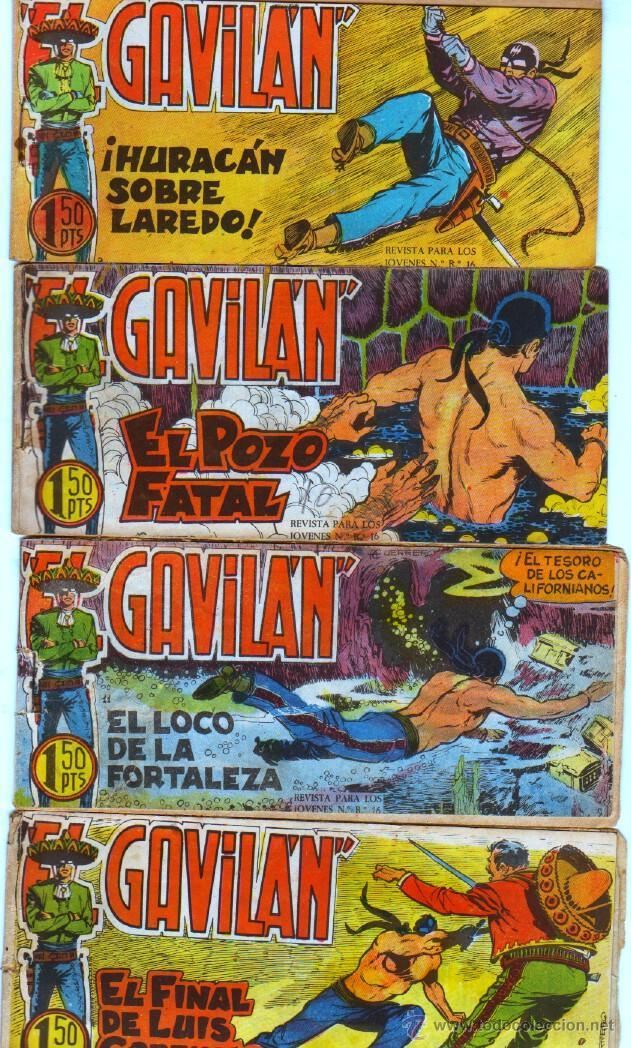 Tebeos: EL GAVILAN ORIGINAL COMPLETA EDI. MAGA 1959 - 1 AL 25 - Foto 3 - 54637153