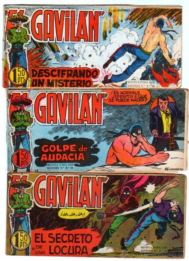 Tebeos: EL GAVILAN ORIGINAL COMPLETA EDI. MAGA 1959 - 1 AL 25 - Foto 4 - 54637153