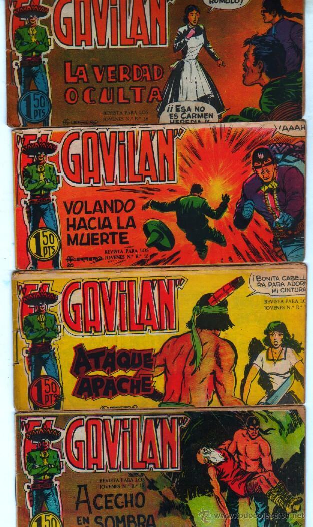 Tebeos: EL GAVILAN ORIGINAL COMPLETA EDI. MAGA 1959 - 1 AL 25 - Foto 6 - 54637153