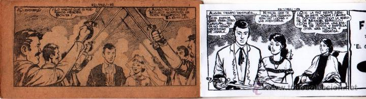 Tebeos: EL GAVILAN ORIGINAL COMPLETA EDI. MAGA 1959 - 1 AL 25 - Foto 8 - 54637153