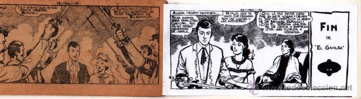 Tebeos: EL GAVILAN ORIGINAL COMPLETA EDI. MAGA 1959 - 1 AL 25 - Foto 9 - 54637153