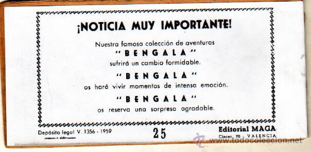 Tebeos: EL GAVILAN ORIGINAL COMPLETA EDI. MAGA 1959 - 1 AL 25 - Foto 10 - 54637153