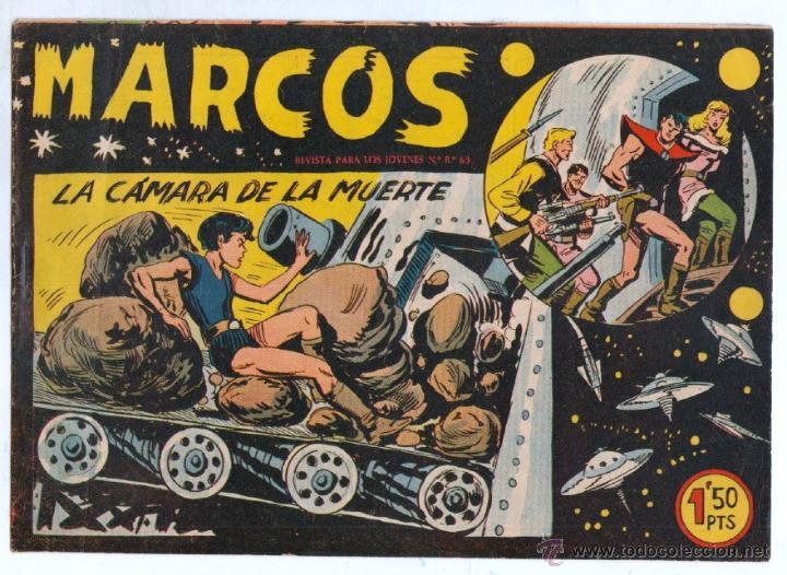 Tebeos: MARCOS ORIGINALES EDI. MAGA 1958 - LOTE 7 NºS - 4 Nºs SIN CIRCULAR NI ABRIR, RESTO MUY BIEN - Foto 11 - 54597760