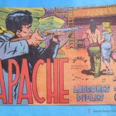 Livros de Banda Desenhada: APACHE PRIMERA SERIE , NUMERO 30 LADRONES DE PIELES , ORIGINAL 1958 MAGA. Lote 54772028