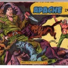 Tebeos: Nº 7 APACHE II. EDITORIAL MAGA 1950-1961. CUADERNOS ORIGINALES. Lote 54930473