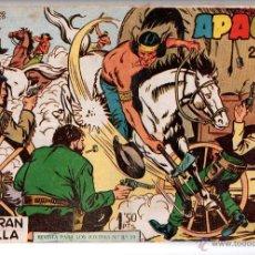 Tebeos: Nº 8 APACHE II. EDITORIAL MAGA 1950-1961. CUADERNOS ORIGINALES. Lote 54930731