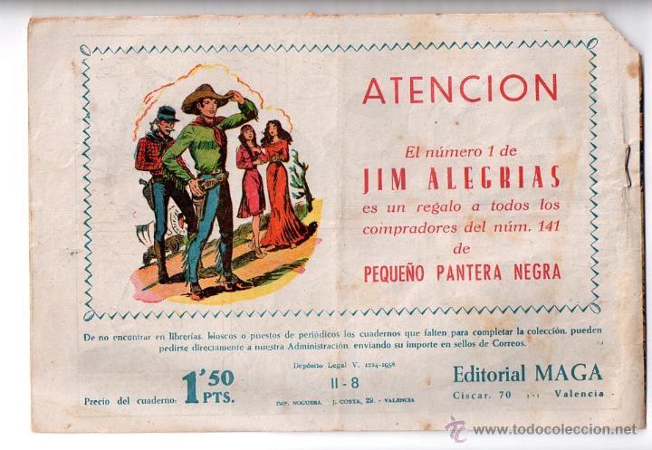 Tebeos: Nº 8 APACHE II. Editorial MAGA 1950-1961. Cuadernos originales - Foto 2 - 54930731