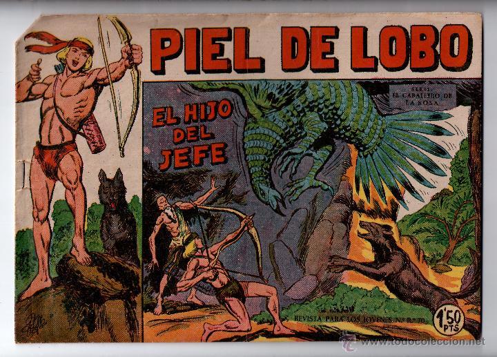 Nº 2 PIEL DE LOBO. EDITORIAL MAGA 1950-1961. CUADERNOS ORIGINALES (Tebeos y Comics - Maga - Piel de Lobo)