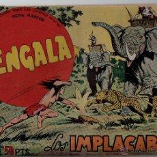 Tebeos: Nº 32 BENGALA. EDITORIAL MAGA 1959. CUADERNOS ORIGINALES. Lote 54930992