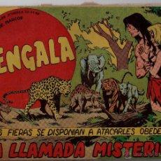 Tebeos: Nº 53 BENGALA. EDITORIAL MAGA 1959. CUADERNOS ORIGINALES. Lote 54931022