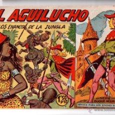 Tebeos: Nº 53 EL AGUILUCHO. EDITORIAL MAGA 1959-1961. CUADERNOS ORIGINALES. Lote 54932068