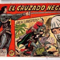 Tebeos: Nº 4 EL CRUZADO NEGRO. EDITORIAL MAGA 1961. CUADERNOS ORIGINALES. Lote 54932255