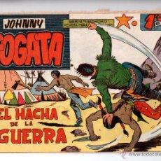 Tebeos: Nº 25 JOHNNY FOGATA. EDITORIAL MAGA 1960. CUADERNOS ORIGINALES. Lote 54932358