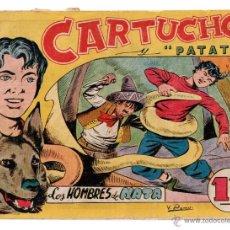 Tebeos: Nº 17 CARTUCHO Y PATATA. EDITORIAL MAGA 1956. CUADERNOS ORIGINALES. Lote 54932600