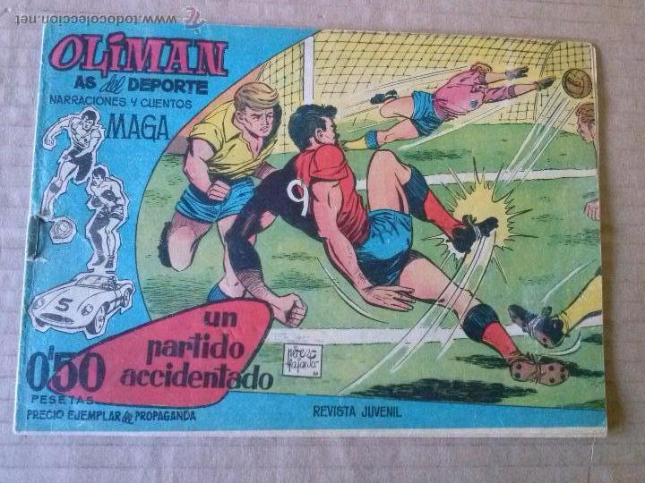 OLIMAN ,AS DEL DEPORTE Nº 1 - MAGA - ORIGINAL - TA (Tebeos y Comics - Maga - Oliman)