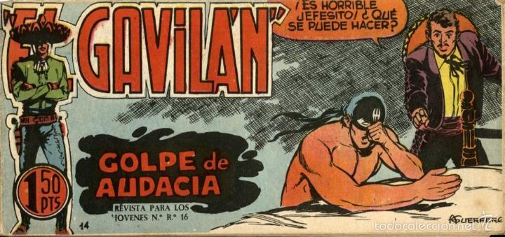 GAVILÁN Nº 14, DE GUERRERO (MAGA, 1959) (Tebeos y Comics - Maga - Otros)