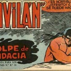 Tebeos: GAVILÁN Nº 14, DE GUERRERO (MAGA, 1959). Lote 55109603