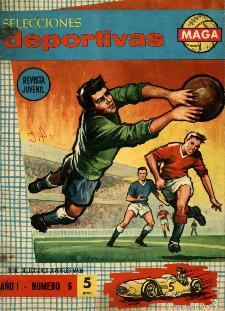 ARCHIVO (566): SELECCIONES DEPORTIVAS MAGA Nº 6 (MAGA, 1963) (Tebeos y Comics - Maga - Otros)