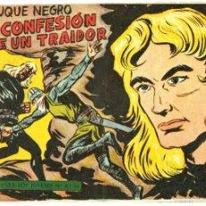Tebeos: EL DUQUE NEGRO ORIGINAL Nº 11 EDI. MAGA 1958 - DIBUJO MANUEL GAGO. Lote 55343038