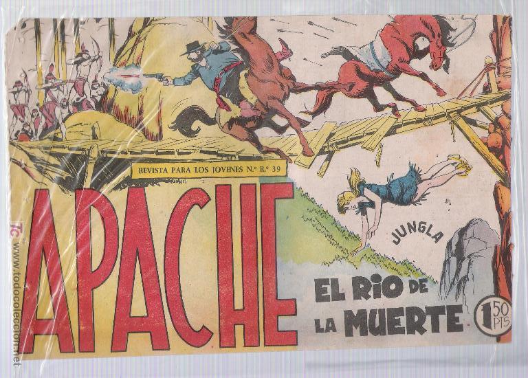 APACHE Nº 42 (Tebeos y Comics - Maga - Apache)