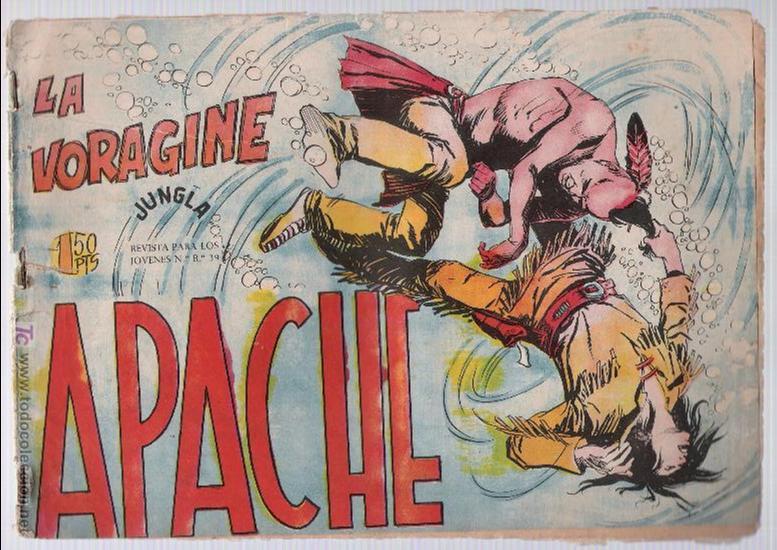 APACHE Nº 38 (Tebeos y Comics - Maga - Apache)