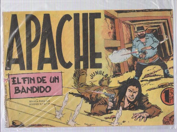 APACHE Nº 33 (Tebeos y Comics - Maga - Apache)