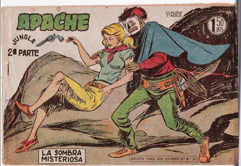 APACHE 2ª Nº 25. (Tebeos y Comics - Maga - Apache)