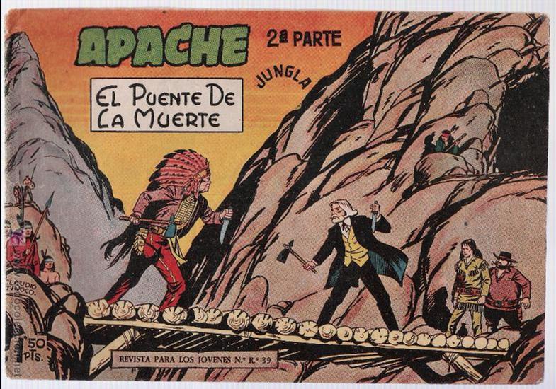 APACHE 2ª Nº 10. (Tebeos y Comics - Maga - Apache)