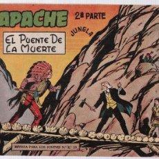 Tebeos: APACHE 2ª Nº 10.. Lote 15120236