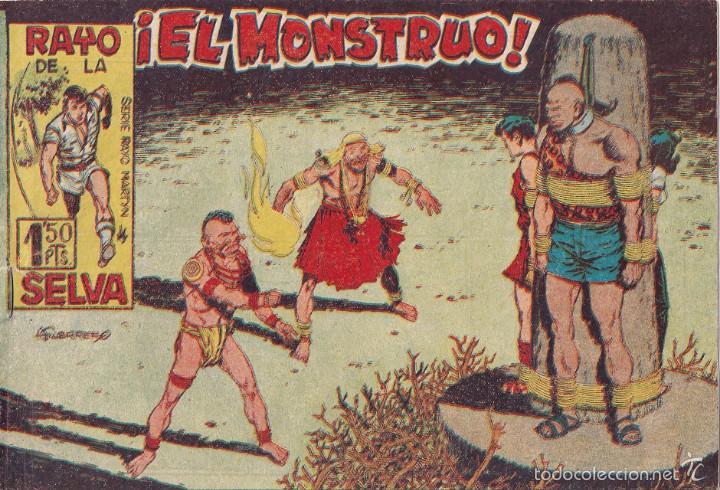 EL RAYO DE LA SELVA. Nº 11 (Tebeos y Comics - Maga - Rayo de la Selva)