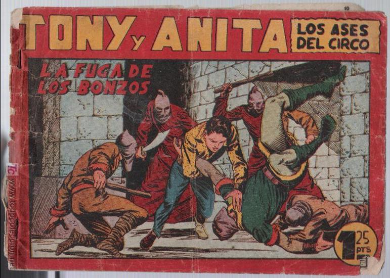 TONY Y ANITA Nº 75. (Tebeos y Comics - Maga - Tony y Anita)