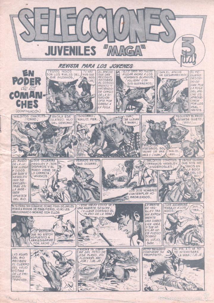 SELECCIONES JUVENILES MAGA Nº 3 ,1961, BALIN, DAN BARRY, PACHO DINAMITA - JOSE ORTIZ- MIGUEL QUESADA (Tebeos y Comics - Maga - Otros)