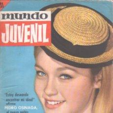 Tebeos: MUNDO JUVENIL Nº 33 ORIGINAL EDI. BRUGUERA 1963 - MARISOL, LANDERS SCHOOL. Lote 56157638