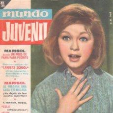Tebeos: MUNDO JUVENIL Nº 18 ORIGINAL EDI. BRUGUERA 1963 - MARISOL, LANDERS SCHOOL. Lote 56157651
