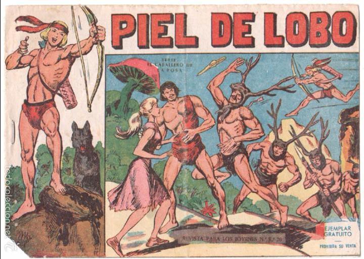 PIEL DE LOBO ORIGINAL Nº 1 EDI. MAGA 1959 - MANUEL GAGO (Tebeos y Comics - Maga - Piel de Lobo)