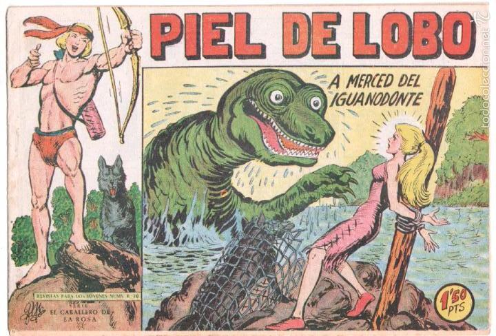 PIEL DE LOBO ORIGINAL Nº 86 EDI. MAGA 1959 - SIN ABRIR, SIN CIRCULAR, MUY DIFICIL (Tebeos y Comics - Maga - Piel de Lobo)