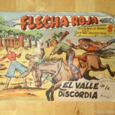 BDs: CÓMIC FLECHA ROJA EL VALLE DE LA DISCORDIA REVISTA PARA LOS JÓVENES SERIE LEYENDAS GRÁFICAS MAGA. Lote 56215043