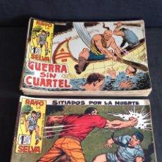 Giornalini: LOTE RAYO DE LA SELVA, ORIGINAL, 1960, CONTIENE 59 EJEMPLARES CORRELATIVOS DEL Nº 25 AL 83. Lote 56329672