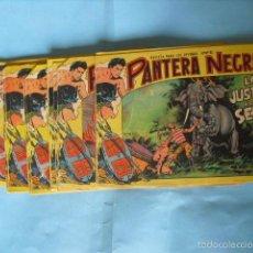 Tebeos: 24 TEBEOS DE PANTERA NEGRA, DE 2 PTS, EDITORIAL MAGA 1958. HAY 8 CON PICO CORTADO,. Lote 56474672