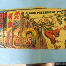 Tebeos: 6 TEBEOS DE JUNGLA, EDITORIAL MAGA 1958,. Lote 56486539