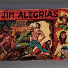 Tebeos: TEBEO. JIM ALEGRIAS. Nº 3. LA TRAICION DE TORO ROJO. Lote 56497155