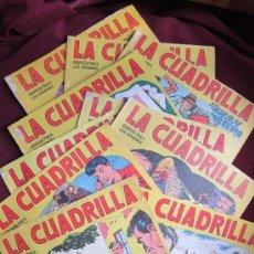 Tebeos: LOTE 10 COMICS LA CUADRILLA. JOSÉ ORTIZ Y PABLO GAGO. EDITORIAL MAGA, 1964 ORIGINALES. TEBENI. Lote 56526960