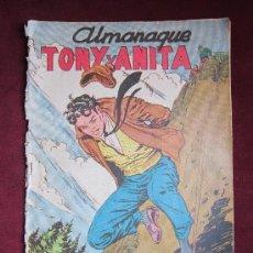 Tebeos: ALMANAQUE TONY Y ANITA. ASES DEL CIRCO 1958. EDITORIAL MAGA ORIGINAL. TEBENI. Lote 56526991